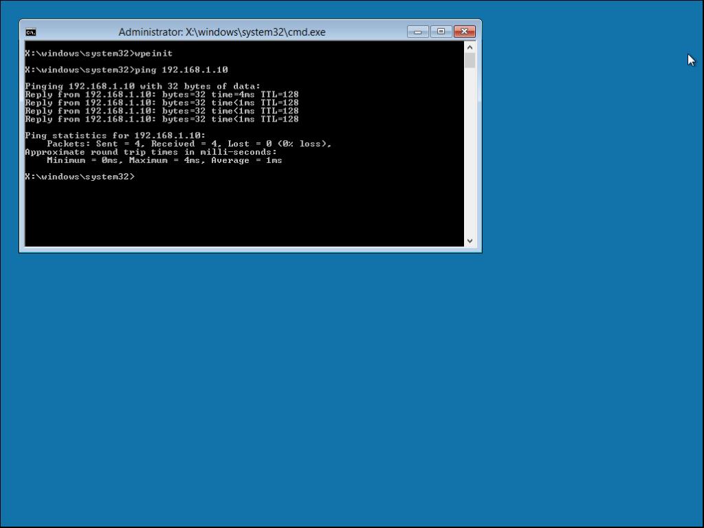 שרת taldc1 הוא גם שרת DHCP והוא חילק למחשב זה כתובת IP ולכן יש פינג